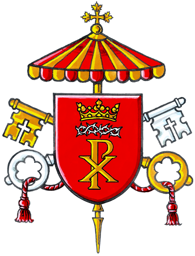 The Coat of Arms of the Cathedral Basilica of Christ the King